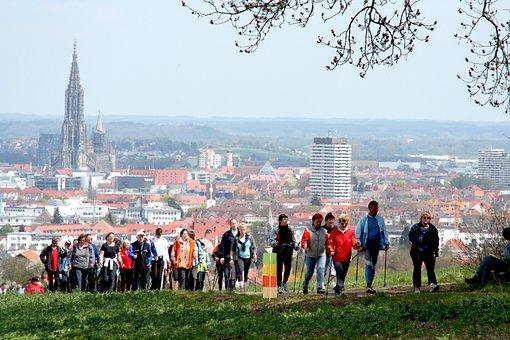Nordic Walking, Walken, Sport, Leisure, Hiking Poles