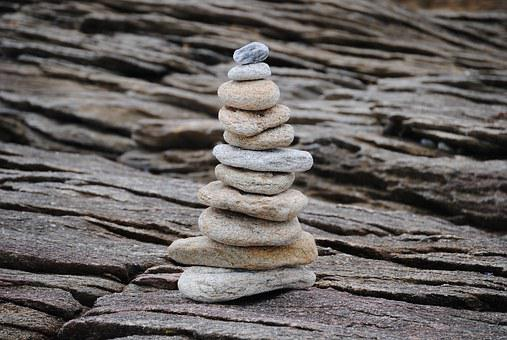 Stones, Tower, Stacked, Rest, Meditation