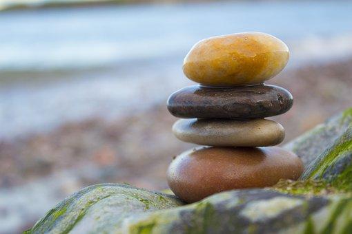 Balance, Rocks, Beach, Zen, Stone, Nature, Stability