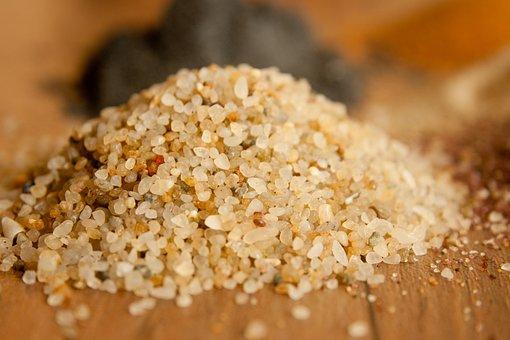 Sand, Grain, Silica, Stones, Fine, Rounded
