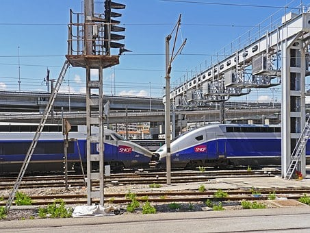 Pure Verkehrstechnik, Nice Main Station, Tgv, Old, New
