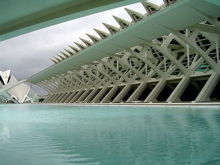 Building, Swimming, Pool, Water, Construction, Modern