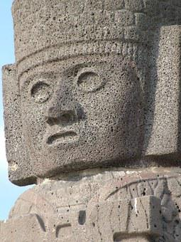 Tula Hidalgo, Archeology, Tourism, Stone Sculpture