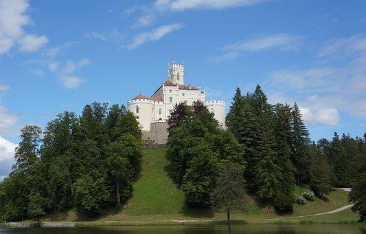 Castle Trakoscan, Castle, Croatia