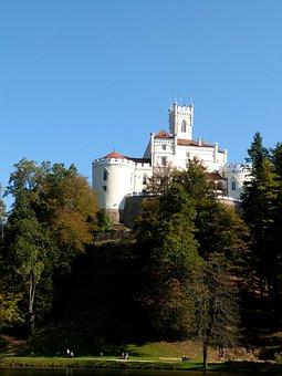 Trakoscan, Castle, Attraction, Landscape, Croatia