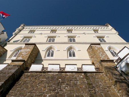 Trakoscan, Castle, Fortress, Architecture, Building