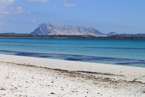 Sardinia, Water, Tavolara, Landscape, Island, Sea