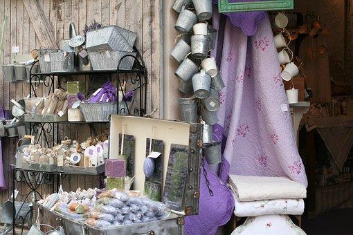 Lavender, Shop, Provence, Le Castellet, France