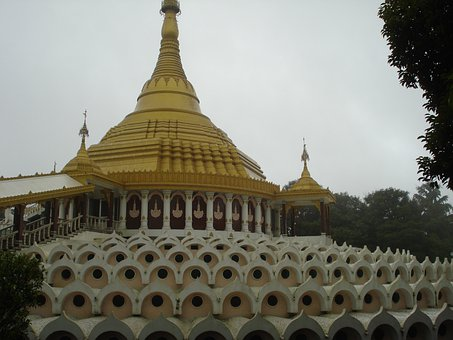 Vipassana, Pagoda, Ingatpuri, Architecture, Buddhist