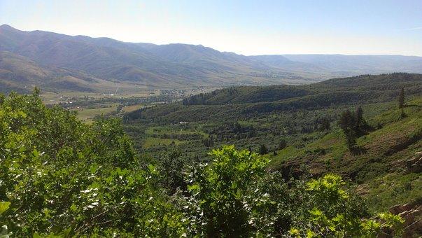Mountains, Ogden Valley, Utah