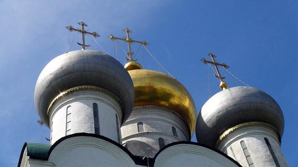 Russia, Moscow, Novodevichy, City