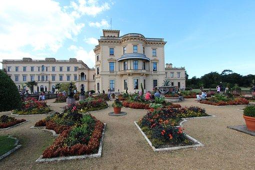 England, Castle, Victoria's Garden, Garden