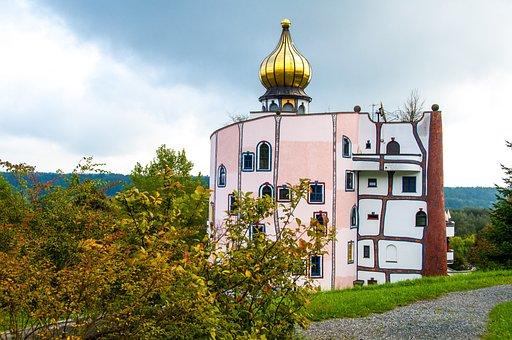 Architecture, Bad Blumau, Landscape