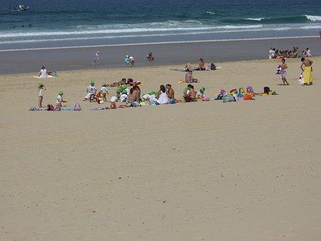 Beach, Caparica Coast, Portugal