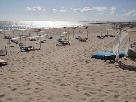 Caparica Coast, Beach, Portugal