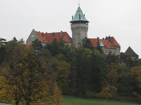 Smolenice, Forest, Slovakia, Castle, Tower