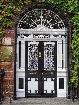 Portoncino, Entrance, Ireland, Decorations, Entry