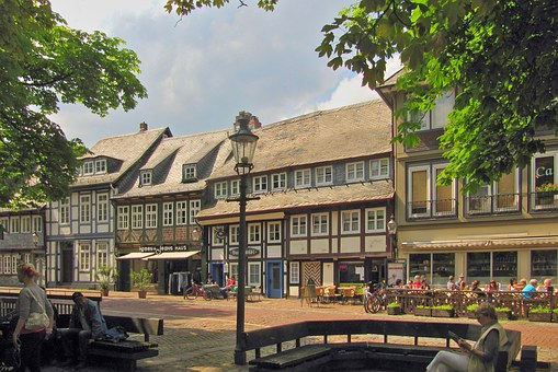 Gosslar, Germany, Old Town, Historically, Architecture