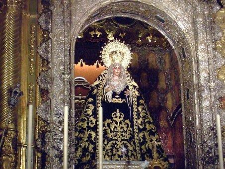 Virgin, Macarena, Seville, Spain, Andalusia