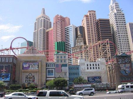 Las Vegas, New York Theme, Casino, Nevada, Building