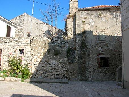 Croatia, Susak Island, Old Building, Mediterranean