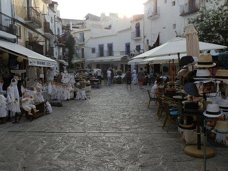 Ibiza, Old Town, Tardeo