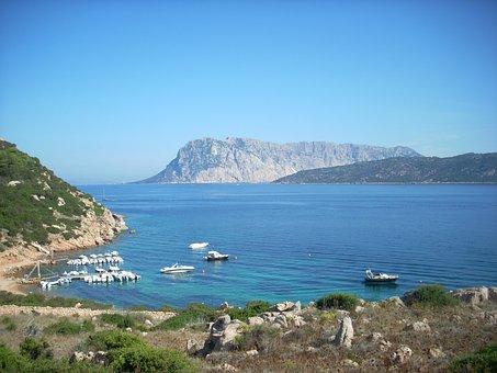 Tavolara, Island, Sardinia, Sea