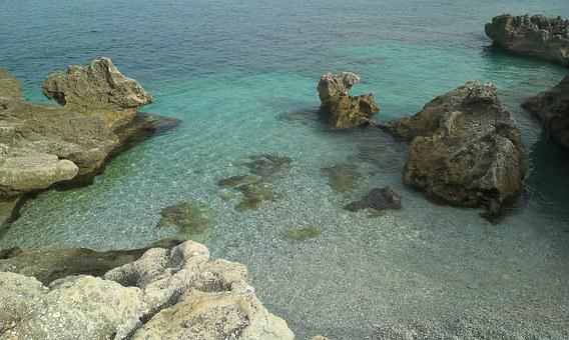 Sicily, Zingaro, Sea, Beach, Stones