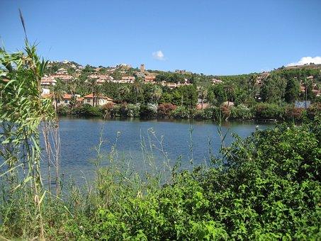Sicily, Lake Ganzirri, View