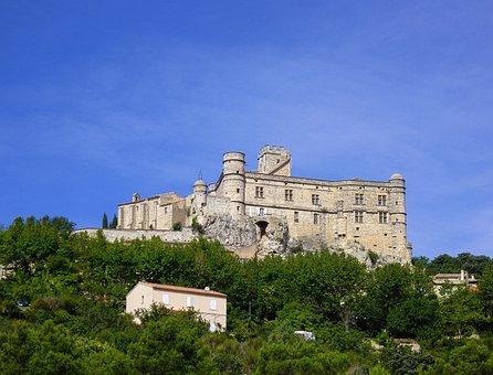 Castle, Castles, Barroux, Vaucluse