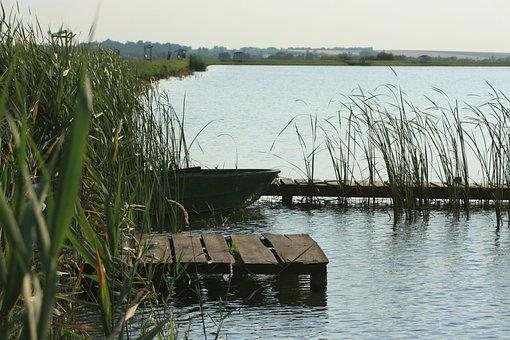 Landscape, Lake, Waterfront, Lakeside