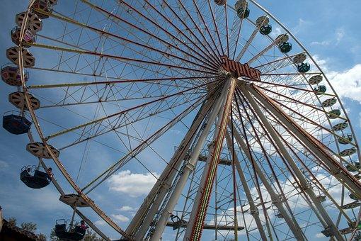 Mannheim, Ferris Wheel, Mannemer Measured