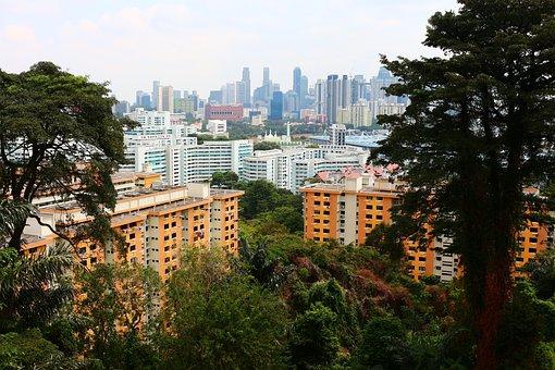 Singapore, Hdb, Southern Ridges
