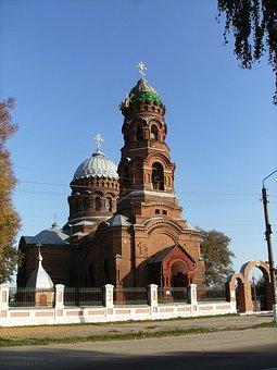 Woznesenśka Church, Trostianeć, Ukraine