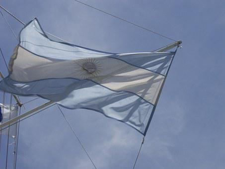 Flag, Argentina Flag, Sky, Nation