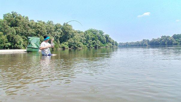 Dravid, Summer, River, Fishing, Comfort