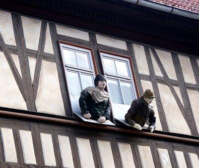 Fenstergucker, Truss, Fachwerkhaus