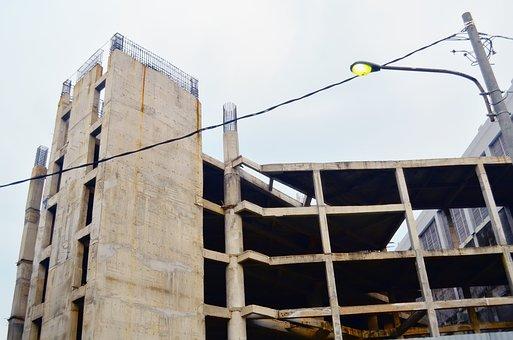 Conctraction, Building, Apart, Airlangga University