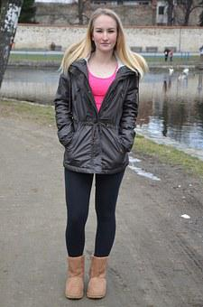 Character, Girl, Barbora, Friend, Winter