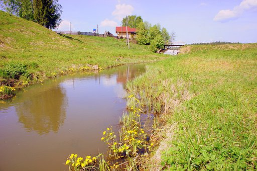 River, Fishing, Silence, Nature, Russia, Sabic, Dacha