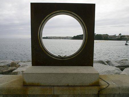 Window, Sea, Sanxenxo