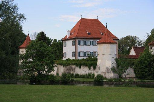 Blutenburg, Munich, Architecture, Bavaria, Germany