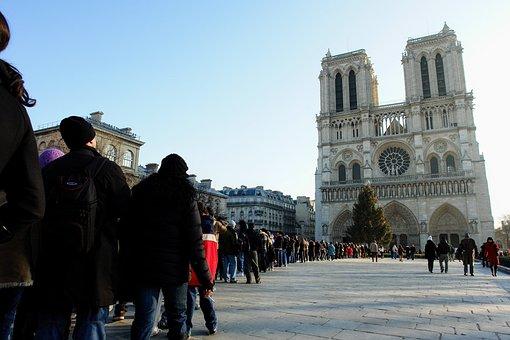 Paris, Notre Dame, Church, Dom, France