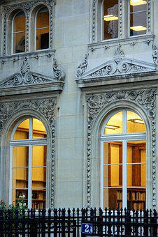Paris, Facade, Architecture, France, Building, Ornament