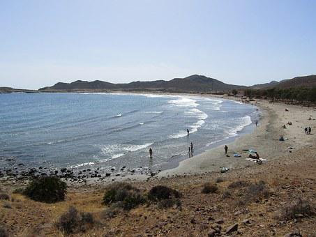 Mediterranean Sea, Spain, Spanish, Europe, Beach, Ocean
