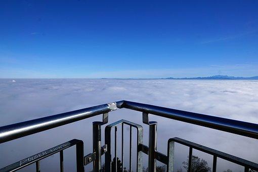 Uetliberg, Zurich, Switzerland, Mountain, Fog