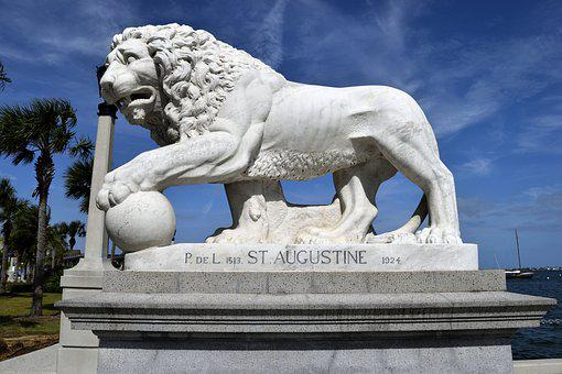 Bridge Of Lions, Historic, St Augustine, Florida