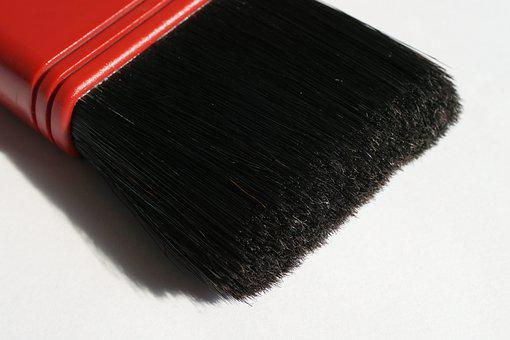 Brush, Tool, Paint, Character Device, Bristles, Color