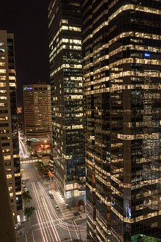 Calgary, Canada, Skyscraper, Downtown, Homes