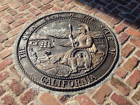 California, History, Pacific, Monterey, Seal, State